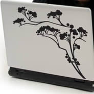Japan Branch laptop decals  skin