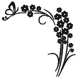 Flower wall decals dezign with a z flower wall decals mightylinksfo