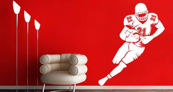 Football Player wall stickers