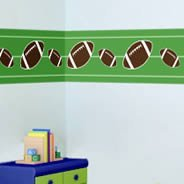 Football wall borders