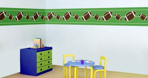 Football wall borders