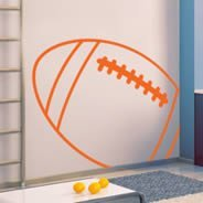Football Line decals
