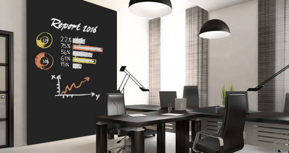 Chalkboard wall decals - Home & Office