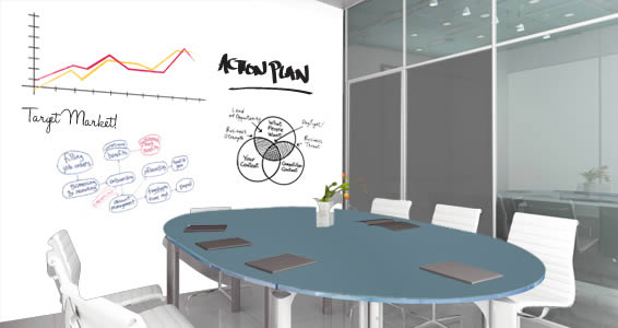 whiteboard for office wall. Whiteboard Office Decal For Wall