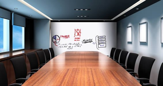 Dry Erase Wall Decals Whiteboard - Home & Office