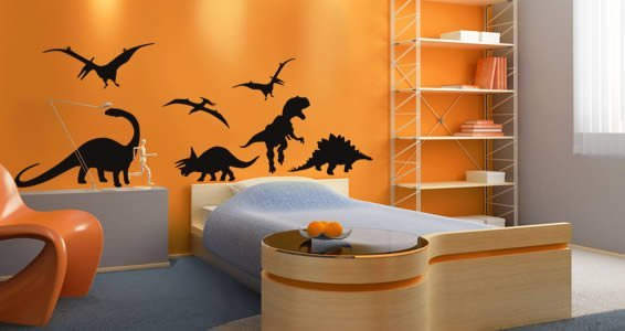 Fun Dinosaurs pack wall stickers