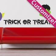 Custom Fun Halloween pack wall decal