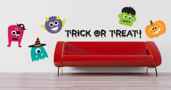 Custom Fun Halloween pack wall decal