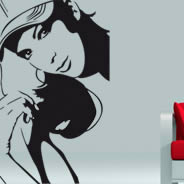 Fun Girl wall stickers