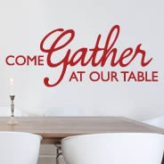Gather quote decals