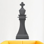 Giant King Chess game decal
