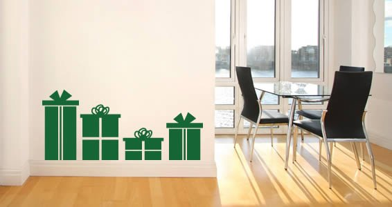 Big Gift Boxes pack wall decals