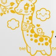 Giraffes wall stickers for children