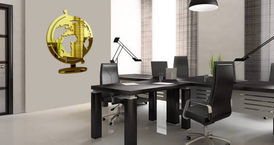 Acrylic Wall Mirror globe acrylic mirrors | dezign with a z