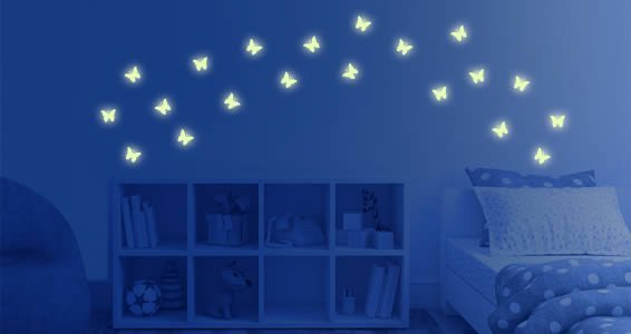 Ordinaire Glow In The Dark Wall Stickers
