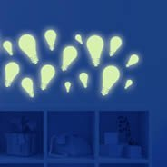 Glow Light Bulbs pack decal