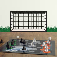 Soccer Goal wall stickers