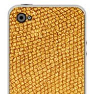 Gold iPhone decals skin