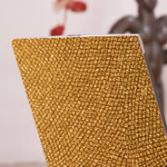 Gold laptop skin