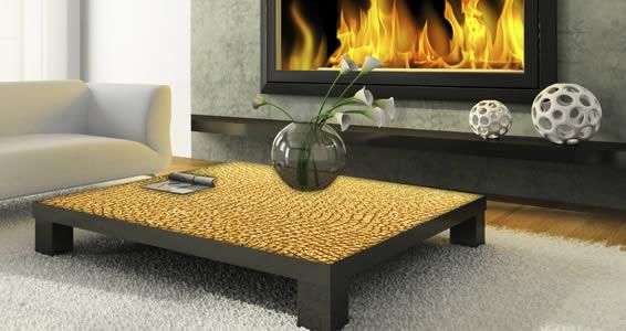 Gold Croco Dry Erase Furniture Skin Decals