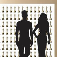 Golden Award Step and Repeat mural