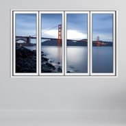 Golden Gate Bridge Fake Window