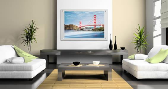 Golden Gate Bridge Plexiglass Stand Off