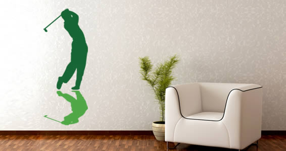 golfer wall decals | dezign with a z