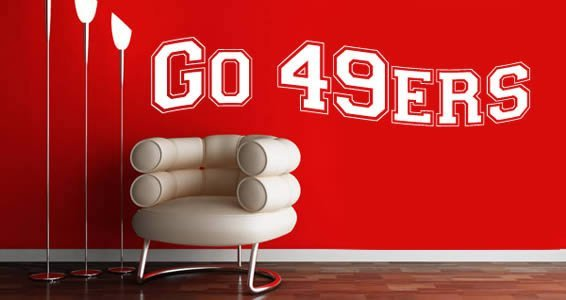 Personalized wall stickers Sports Team