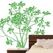 Great Laurel tree wall decals