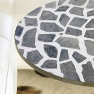 Grey Stones Dry erase Furniture Decal Skins
