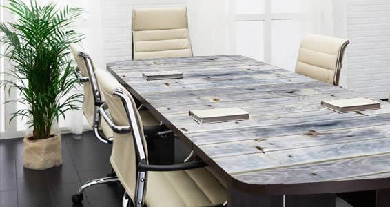... Grey Reclaimed Wood Decals Dry Erase Furniture Skins ...