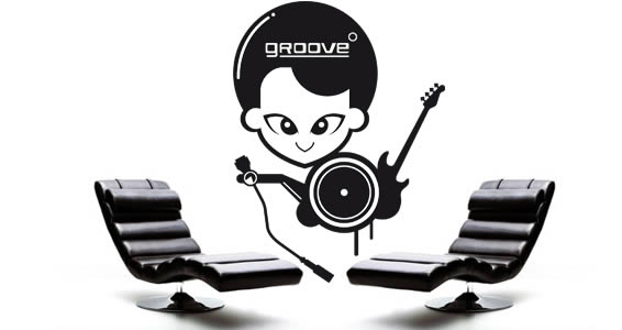Groove wall decals