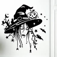 Witch-O-Ween! vinyl wall stickers