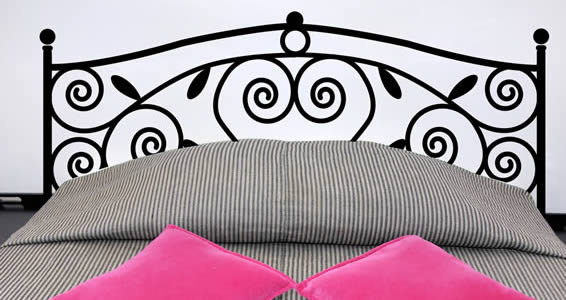 My Headboard Wall Decal