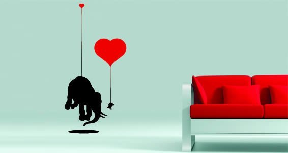 Heavy Love by Thomas Fuchs wall decal