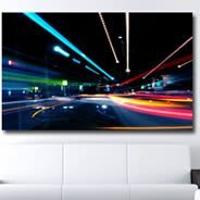 Highway photo pictures on canvas