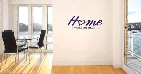 Home quote wall decals