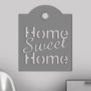 Home Sweet Home wall appliques