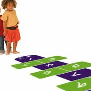 Hopscotch wall art stickers