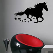 Magic Horse wall tattoos