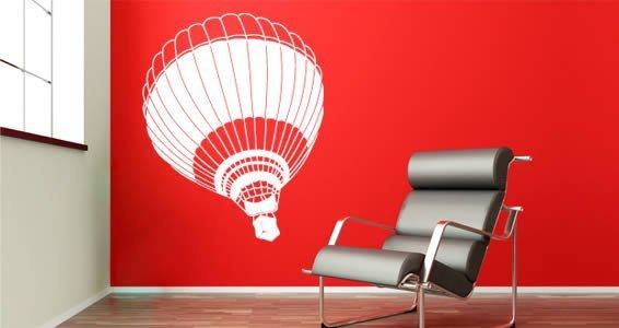 Hot Air Balloon vinyl wall art