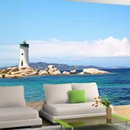 The Light House vinyl wall murals