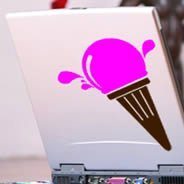 Got Ice Cream? laptop stickers skin