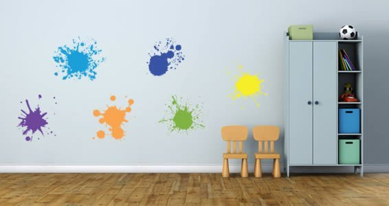 Ink Splatters decals pack