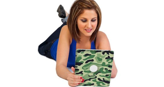 Classic Camo skin for iPad tablets