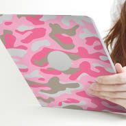 Pink Camo Ipad tablets decals skin