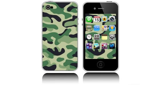Classic Camo  iPhone decals skins