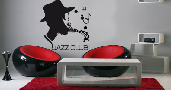 All that jazz... removable wall decals