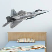 Jet Fighter wall decal
